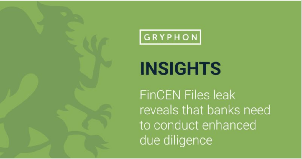 FinCEN Files leak reveals that banks need to conduct enhanced due diligence