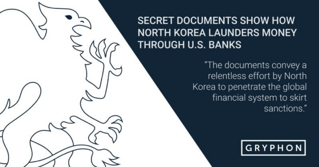 Secret documents show how North Korea launders money through U.S. banks
